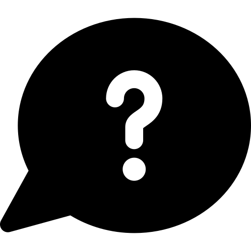 question speech bubble